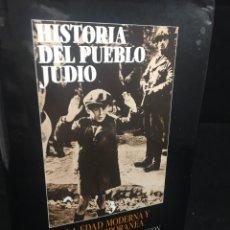 Libros de segunda mano: HISTORIA DEL PUEBLO JUDIO 3 EDAD MODERNA Y CONTEMP. ALIANZA EDITORIAL. DIRIGIDA POR BEN-SASSON. 1988. Lote 240014825