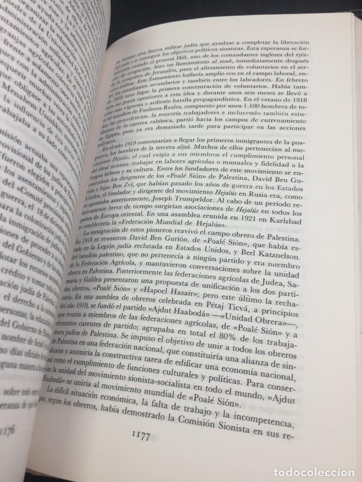 Libros de segunda mano: Historia del pueblo judio 3 Edad Moderna y Contemp. Alianza Editorial. Dirigida por Ben-Sasson. 1988 - Foto 6 - 240014825