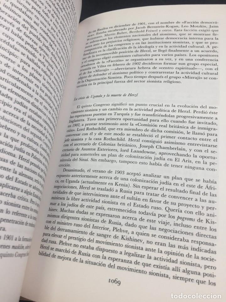 Libros de segunda mano: Historia del pueblo judio 3 Edad Moderna y Contemp. Alianza Editorial. Dirigida por Ben-Sasson. 1988 - Foto 7 - 240014825