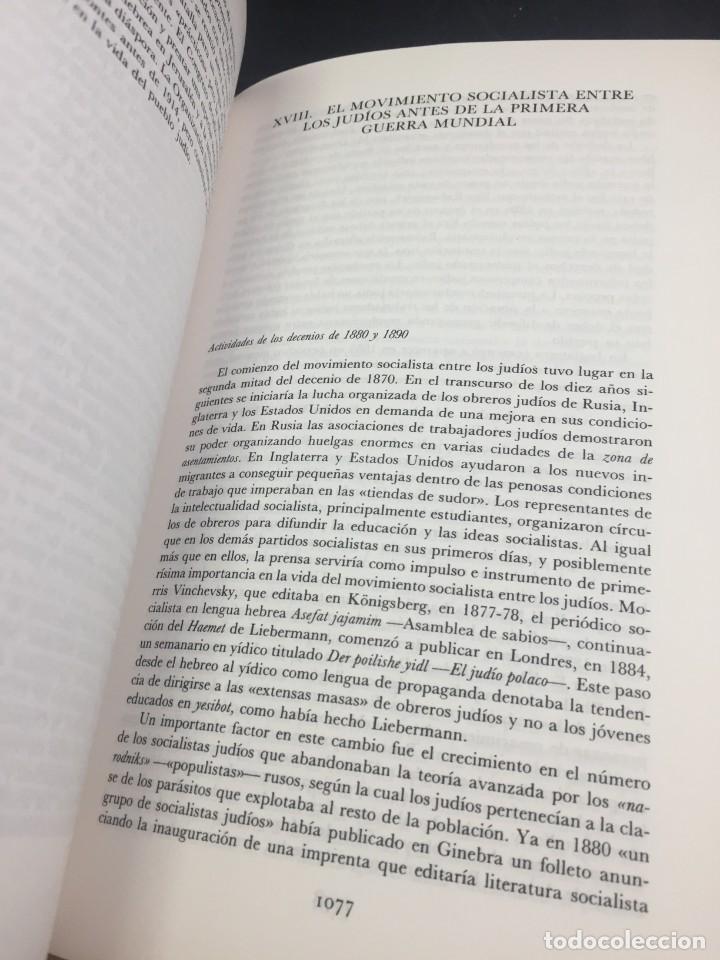 Libros de segunda mano: Historia del pueblo judio 3 Edad Moderna y Contemp. Alianza Editorial. Dirigida por Ben-Sasson. 1988 - Foto 8 - 240014825