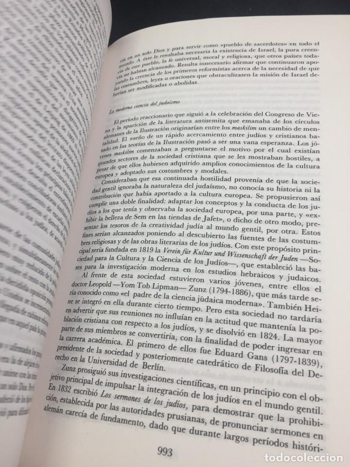 Libros de segunda mano: Historia del pueblo judio 3 Edad Moderna y Contemp. Alianza Editorial. Dirigida por Ben-Sasson. 1988 - Foto 11 - 240014825