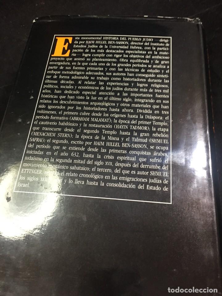 Libros de segunda mano: Historia del pueblo judio 3 Edad Moderna y Contemp. Alianza Editorial. Dirigida por Ben-Sasson. 1988 - Foto 17 - 240014825