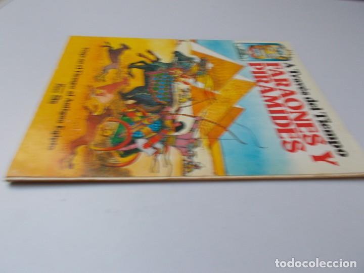 Libros de segunda mano: A TRAVÉS DEL TIEMPO Faraones y Pirámides - Foto 4 - 240150490