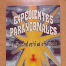 Livros em segunda mão: EXPEDIENTES PARANORMALES, LA VERDAD ESTA AL OTRO LADO / NORMAN WALLACE / 1995. EDITORIAL HUMANITAS. Lote 240163435