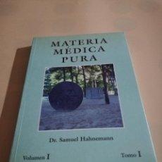 Libros de segunda mano: MATERIA MEDICA PURA. DR. SAMUEL HAHNEMANN. VOL I. TOMO I. 1997. PAG. 238.. Lote 240344385