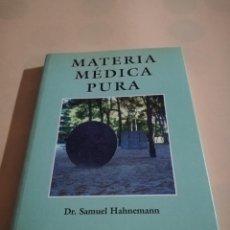 Libros de segunda mano: MATERIA MEDICA PURA. DR. SAMUEL HAHNEMANN. VOL I. TOMO II. 1997. PAG. 229.. Lote 240344565