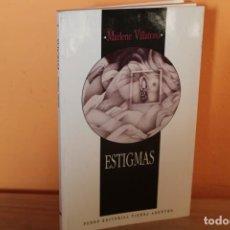 Libros de segunda mano: ESTIGMAS / MARLENE VILLATORO. Lote 240409185