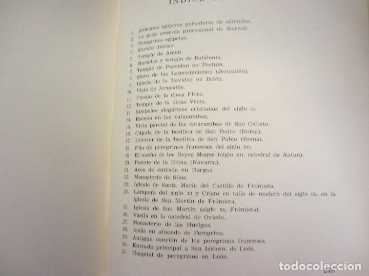 Libros de segunda mano: HISTORIA DE LAS PEREGRINACIONES (SUS ORÍGENES, RUTAS Y RELIGIONES). LUIS BONILLA. 1965. - Foto 13 - 212211843