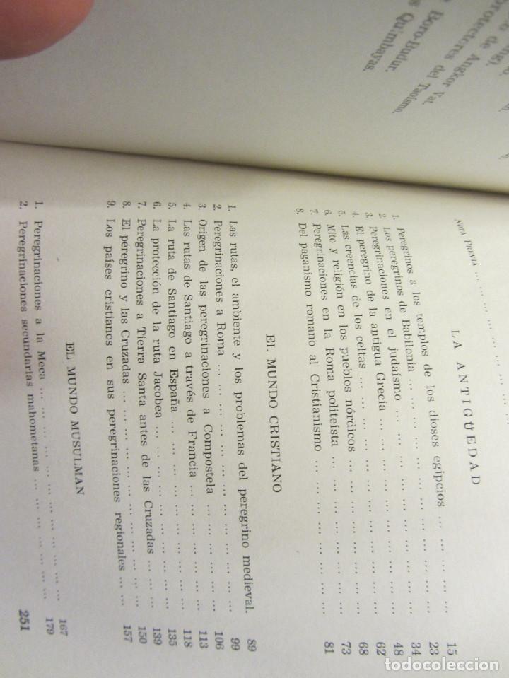 Libros de segunda mano: HISTORIA DE LAS PEREGRINACIONES (SUS ORÍGENES, RUTAS Y RELIGIONES). LUIS BONILLA. 1965. - Foto 15 - 212211843