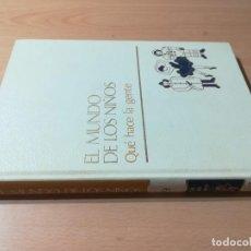 Libros de segunda mano: QUE HACE LA GENTE 9 / EL MUNDO DE LOS NIÑOS / SALVAT / U+406. Lote 240539330