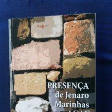 Libros de segunda mano: PRESENÇA DE JENARO MARINHAS NA AGAL. 1ª EDIÇOM. Lote 240645480