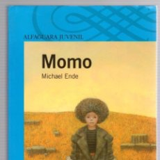 Livres d'occasion: MOMO. MICHAEL ENDE. ALFAGUARA JUVENIL 2007. Lote 240646275