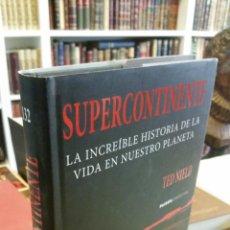 Livres d'occasion: 2008 - TED NIELD - SUPERCONTINENTE. LA INCREÍBLE HISTORIA DE LA VIDA EN NUESTRO PLANETA. Lote 240819215
