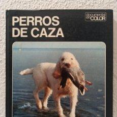 Libros de segunda mano: LIBRO PERROS DE CAZA. Lote 241113795