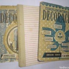Libros de segunda mano: EL ARTE DE EMBELLECER LA CASA. COMPLEMENTOS DE LA DECORACIÓN, ESTILOS DE LA DECORACIÓN, FUNDAMENTOS. Lote 241125020