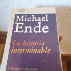 Libros de segunda mano: LA HISTORIA INTERMINABLE. MICHAEL ENDE. Lote 241165535
