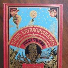 Libros de segunda mano: JULIO VERNE, VIAJE AL CENTRO DE LA TIERRA, EL ARCHIPIÉLAGO DE FUEGO - 1982 - VIAJES EXTRAORDINARIOS. Lote 241185235