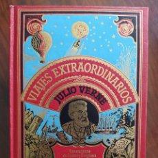 Libros de segunda mano: JULIO VERNE, LAS AVENTURAS DE 3 RUSOS Y 3 INGLESES, EL SECRETO DE MASTON - VIAJES EXTRAORDINARIOS. Lote 241186650
