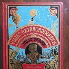 Libros de segunda mano: JULIO VERNE, DE LA TIERRA A LA LUNA, VIAJE ALREDEDOR DE LA LUNA, 1982 - VIAJES EXTRAORDINARIOS. Lote 241187370