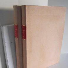 Libros de segunda mano: RAFAEL MONLEÓN. CONSTRUCCIONES NAVALES. COMPLETA, 3 TOMOS. MUSEO NAVAL MADRID. MINISTERIO DE DEFENSA. Lote 241207540