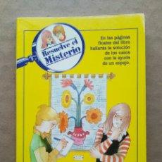 Libros de segunda mano: RESUELVE EL MISTERIO N°19: EL ENIGMA DEL EXTRAÑO TAPIZ (TIMUN MAS, 1992).. Lote 241310655