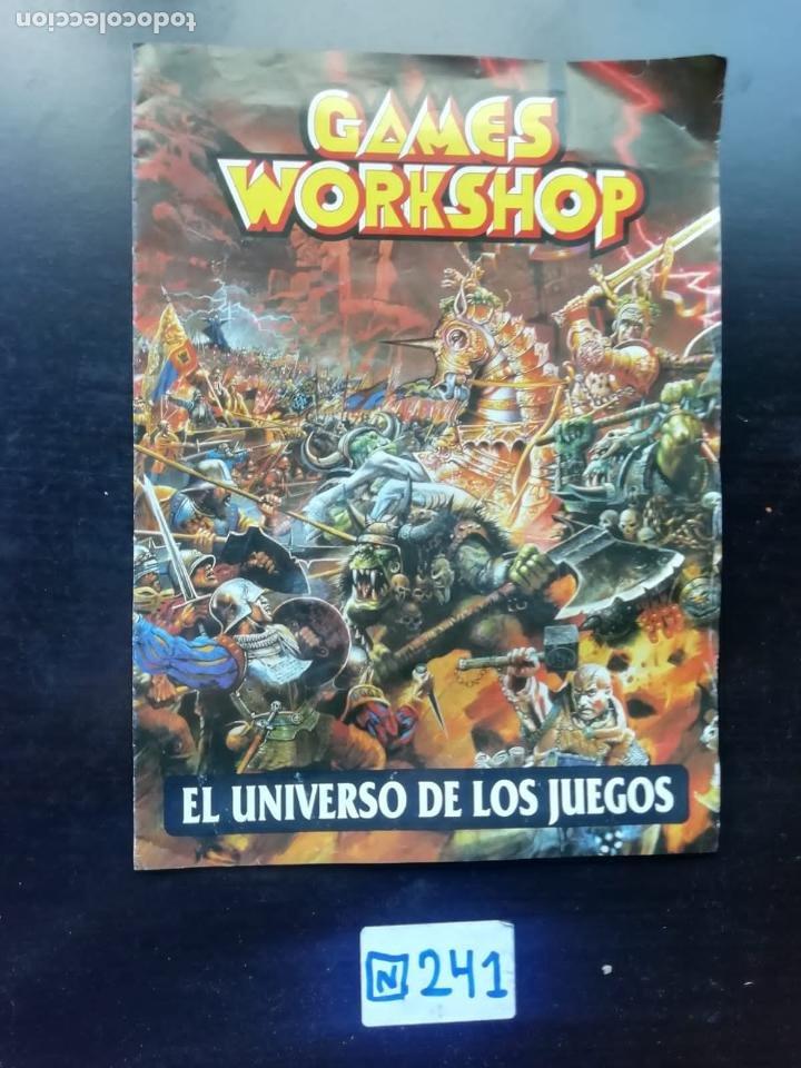 EL UNIVERSO DE LOS JUEGOS (Libros de Segunda Mano - Literatura Infantil y Juvenil - Otros)