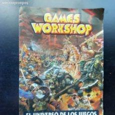 Libros de segunda mano: EL UNIVERSO DE LOS JUEGOS. Lote 241453940