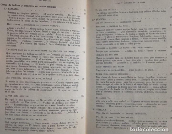 Libros de segunda mano: TU BELLEZA - ENCICLOPEDIA DE ATRACTIVO Y PERSONALIDAD LIBRO ANITA COLBY CONSEJOS GUÍA MODA SALUD ETC - Foto 4 - 241544220