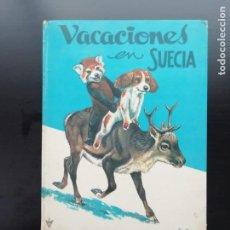 Libros de segunda mano: VACACIONES EN SUECIA. Lote 241553255