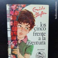 Libros de segunda mano: LOS CINCO FRENTE A LA AVENTURA. Lote 241554850