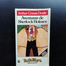 Libros de segunda mano: AVENTURAS DE SHERLOCK HOLMES. Lote 241555430
