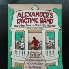 Libros de segunda mano: ALEXANDER'S RAGTIME BAND. Lote 241593880
