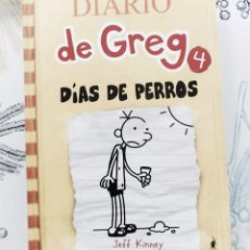 Libri di seconda mano: DIARIO DE GREG 4 DIAS DE PERROS JEFF KINNEY ED. MOLINO 2010 PASTA DURA 218 PAGINAS. Lote 241795405