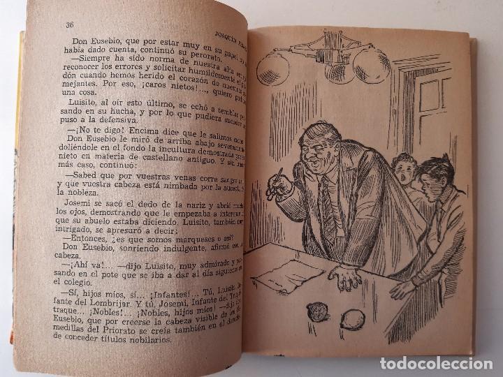 Libros de segunda mano: JUANITO SMITH EUSEBIO JACKSON JOAQUIN PELAEZ ILUSTRADOR FELIX PUENTE 1959 - Foto 14 - 241811895