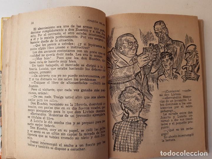 Libros de segunda mano: JUANITO SMITH EUSEBIO JACKSON JOAQUIN PELAEZ ILUSTRADOR FELIX PUENTE 1959 - Foto 15 - 241811895