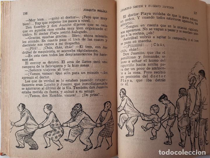 Libros de segunda mano: JUANITO SMITH EUSEBIO JACKSON JOAQUIN PELAEZ ILUSTRADOR FELIX PUENTE 1959 - Foto 21 - 241811895