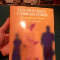 Libros de segunda mano: LECTURAS DE AURAS Y CUIDADOS ESENIOS (TERAPIAS DE AYER Y DE HOY) ANNE MEUROIS-GIVAUDAN - OBELISCO. Lote 241917630