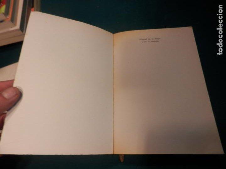 Libros de segunda mano: MANUAL DE LA MAGIA Y DE LA BRUJERÍA - LIBRO DE OSVALDO PEGASO - DE VECCHI 1980 - ILUS. EN B/N - Foto 2 - 242030760