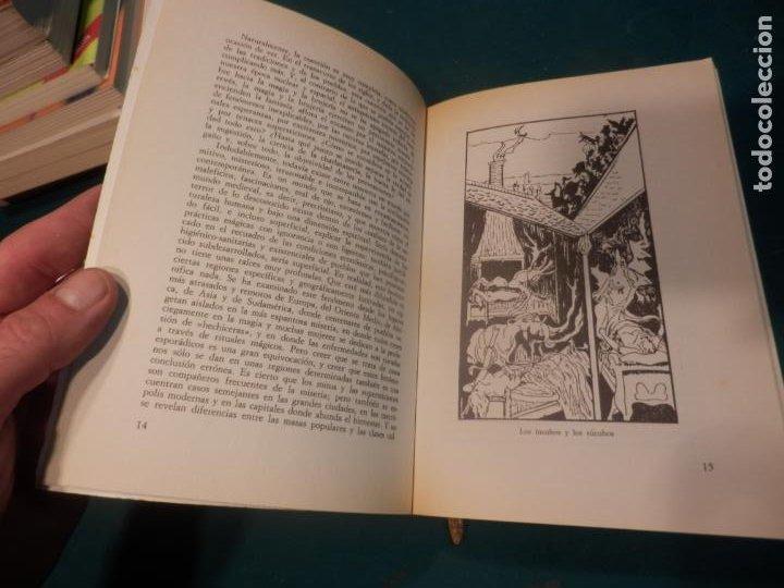 Libros de segunda mano: MANUAL DE LA MAGIA Y DE LA BRUJERÍA - LIBRO DE OSVALDO PEGASO - DE VECCHI 1980 - ILUS. EN B/N - Foto 5 - 242030760