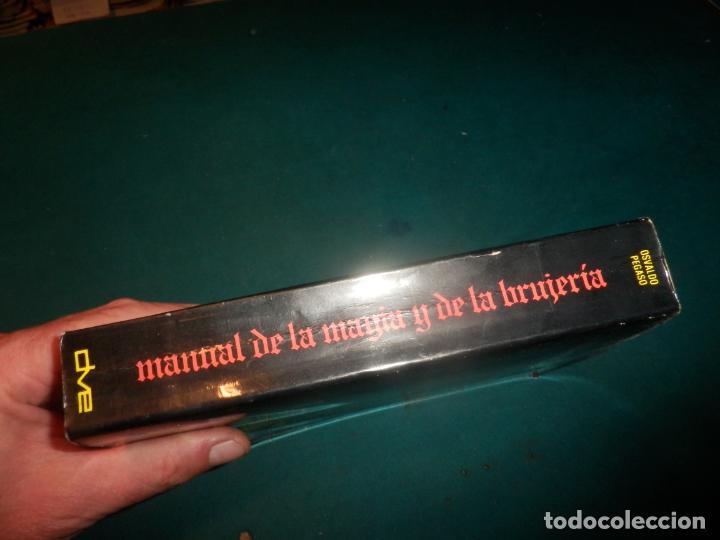 Libros de segunda mano: MANUAL DE LA MAGIA Y DE LA BRUJERÍA - LIBRO DE OSVALDO PEGASO - DE VECCHI 1980 - ILUS. EN B/N - Foto 12 - 242030760