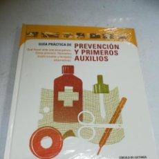 Libri di seconda mano: GUIA PRACTICA DE PREVENCION Y PRIMEROS AUXILIOS. CIRCULO DE LECTORES. TAPA DURA. CERRADO. Lote 242034570