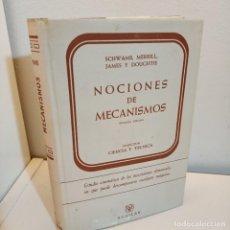 Libros de segunda mano: NOCIONES DE MECANISMOS, SCHWAMB-MERRILL-JAMES-DOUGHTIE, INGENIERIA / ENGINEERING, AGUILAR, 1962. Lote 242115375