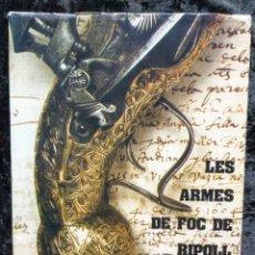 Libros de segunda mano: ARMES DE FOC DE RIPOLL - EUDALD GRAELLS I PUIG - 1974 - PRIMERA EDICIO - ILUSTRADO. Lote 242154005
