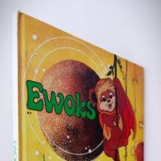 Libros de segunda mano: STAR WARS EWOKS - PLAZA JOVEN 1.986 - 45 PÁGINAS A TODO COLOR. Lote 242194310