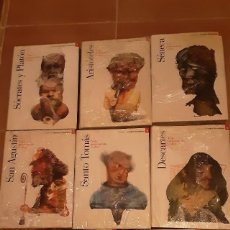 Libros de segunda mano: COLECCIÓN GRANDES PENSADORES PLANETA AGOSTINI - 16 VOLÚMENES (DEL 1 AL 17. VER TÍTULOS EN FOTOS). Lote 242401025