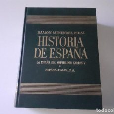 Libros de segunda mano: ESPASA - HISTORIA DE ESPAÑA. TOMO XX ESPAÑA EN TIEMPOS DEL EMPERADOR CARLOS V. Lote 242441270
