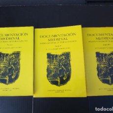 Libros de segunda mano: DOCUMENTACIÓN MEDIEVAL. ARCHIVO MUNICIPAL DE TRUJILLO I-II-III (1256-1516). TRILOGIA COMPLETA. Lote 242813395