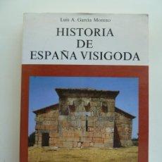 Libros de segunda mano: HISTORIA DE ESPAÑA VISIGODA. LUIS A. GARCÍA MORENO. Lote 242816110