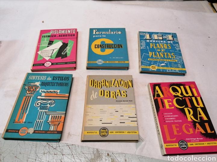 6 LIBROS CEAC (Libros de Segunda Mano - Ciencias, Manuales y Oficios - Otros)