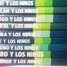 Libros de segunda mano: LOTE DE 9 LIBROS EVEREST. ... Y LOS NIÑOS. Lote 242883540